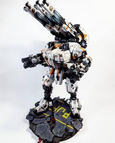 Warhammer 40k | Tau | KX139 Ta'unar Supremacy Armour | #warhammer #40k #40000…