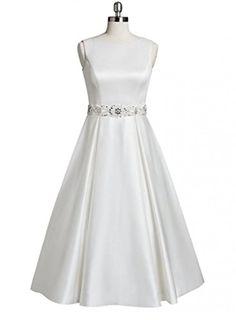 Girls Day Satin Scoop Neck Beaded Belt Tea Length Prom Dress Lace Dresses Girls Day http://www.amazon.com/dp/B01CQD9NKQ/ref=cm_sw_r_pi_dp_w7Ybxb0KN7QFR