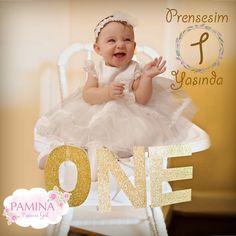 Her yaş ayrı mutluluk!   My little princess is 1 year old...  #baby #Annebebek #bebek #fashionkids