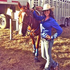 Megan Etcheberry from Rodeo Girls. Barrel racing pro rodeo
