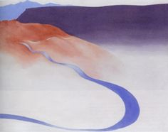 To the Ranch - Georgia O'Keeffe 1964 American 1887-1986