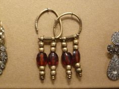 temple rings or earrings. Russian costume
