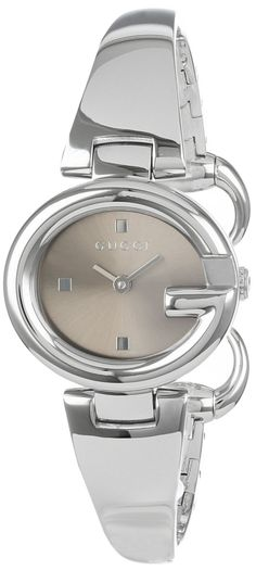 Luxury Watch : Gucci Women's YA134503 Guccissima Fashion Bangle Brown Dial Watch, Disclosure: Affiliate Link...$595.00