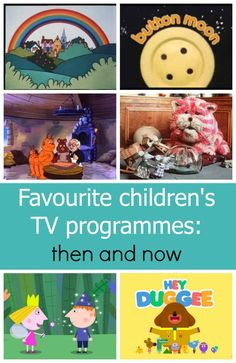 Looking back and remembering some of my favourite children's TV programmes and how things