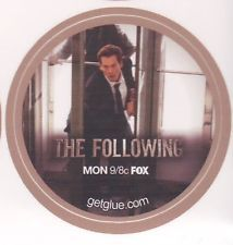 ** NEW ** The Following Sticker - Let Me Go / Kevin Bacon / Ryan Hardy