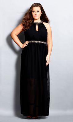 City Chic - ARABELLA MAXI DRESS - Women's Plus Size Fashion