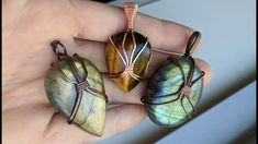 Wire Wrapped Cabochon Scarab Pendant Tutorial Demo DIY Unisex