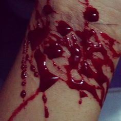 Cutting Quotes, Gore Aesthetic, Blood Art, Blood And Bone, Self Destruction, Depression Quotes, It Hurts, Dark Blood, I'm Fine