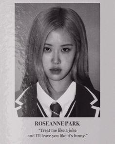 Lisa Park, K Pop, Photographie Portrait Inspiration, Kpop Posters, Rose Icon, Blackpink Video, Kim Jisoo, Blackpink Photos, Park Chaeyoung