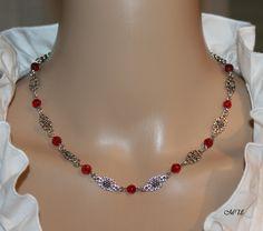 Halskette-Blumen-Elemente von Edelweiss51 auf Etsy