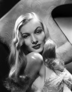 Hair Ideas---Veronica Lake - waves. Simple. elegant. Romantic.--Jeanette Saucedo