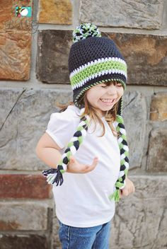 Seattle Seahawks Super Bowl Men s Women s Child Toddler Beanie Cap Blue  Green and Grey Gray Fan 12th Man Crochet Hat  103618d2a