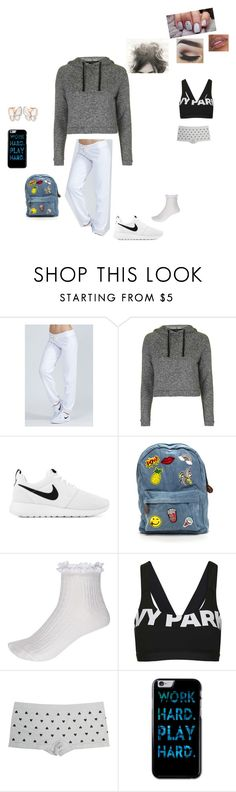 """""""running earrands"""" by mrsminana95 on Polyvore featuring Monrow, Topshop, NIKE, River Island, Wet Seal and castro"""