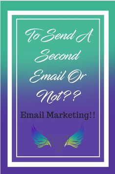 Learn when to send a second email to your customers and why it is ok to do it. Email marketing doesn't have to be scary! Traci Lynn Fashion Jewelry, Damsel In Defense, Initials Inc, Pure Romance Consultant, Direct Sales Companies, Origami Owl Business, Email Marketing Lists, Discovery Toys, Arbonne Business