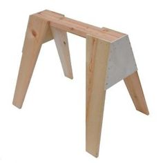 Signature Development, 29 in. Wooden Sawhorse, 378739 at The Home Depot - Mobile