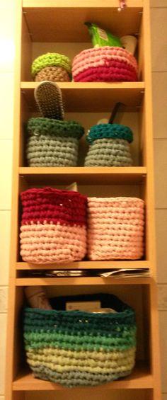 t-shirt yarn baskets