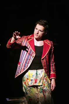 James Penca in  Goodspeed's THE CIRCUS IN WINTER at The Norma Terris Theatre, Chester, Conn. 10/23/14 - 11/16/14