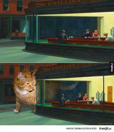 f5e762c9c2a619 Słynne obrazy z tłustym rudym kotem w roli głównej Wejdź na: www.gadzin.