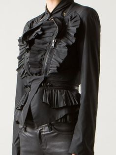 Givenchy Flounced Jacket - - Farfetch.com