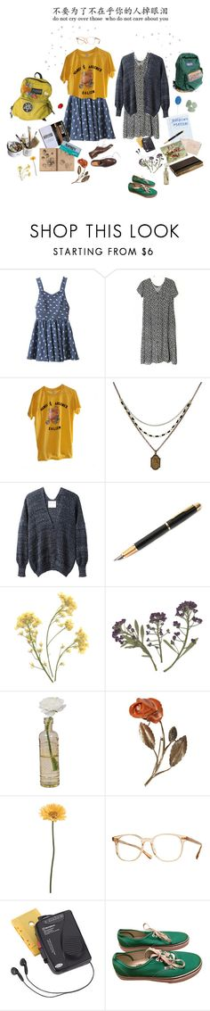 """I Care About You"" by owlenstar on Polyvore featuring Chicnova Fashion, 1928, Stephan Schneider, Fountain, Hahn, Moleskine, Cultural Intrigue, Mason's, Gerber and Oliver Peoples"