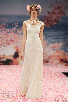 claire pettibone bridal spring 2013 thalia wedding dress straps
