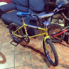 Estrenando protectores gracias a @lecustombikes ����#LocalCustoms #bh #california #ambrosio #bmx #bmxclasica #bmx80 #80s #bicicletas #bicicletascustom #custom #bicicletascustomizadas #bicicletasclasicas #restauracion #restauraciondebicicletas #custombikes #bikes #classicbikes #oldbikes #classicbmx #lovebmx #bmxlife #oldbmx #oldschool #vintage #retro #madrid #tagforlikes http://misstagram.com/ipost/1567606354272449067/?code=BXBQax2DfIr