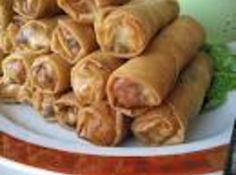 Yum... I'd Pinch That! | Thai Crispy Eggrolls