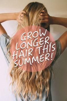 Learn Rebecca Lynn's Latest Secret for Longer, Stronger Hair Here -> http://allfemalestyle.com/longer-stronger-is-now-possible-pinterest-exclusive-pin02/