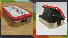 This DIY Altoids Tin Solar Charger Keeps Your Gadgets Juiced Up