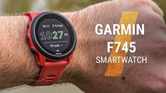 The Garmin Forerunner 745 GPS running watch with heart rate monitor is a feature-packed multi-sport watch and fitness tracker for runners, cyclists and triathletes. The compact stylish design running watch looks great for men and women. It delivers detailed training stats using wrist-based sensors like HRM and GPS and on-device workouts plus smartwatch functions such as music, contactless payments and more. Best Running Gear, Running Watch, Best Running Shoes, Running Singlet, Running Tights, Charity Run, Couch To 5k, Marathon Running, Cyclists