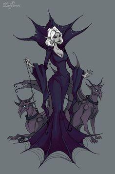 Mistress of gargoyles by IrenHorrors on DeviantArt