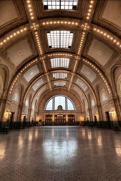 Seattle Train Station.