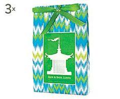 Set de 3 bolsas aromáticas – aloe vera y albahaca