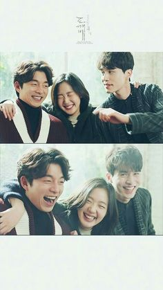 Gong Yoo, Kim Go-eun and Lee Dong Wook in Ep 9 of the drama Goblin. Goblin Korean Drama, Korean Drama List, Goblin The Lonely And Great God, Ver Drama, Goblin Gong Yoo, Yoo Gong, Kim Go Eun, Drame, Yook Sungjae
