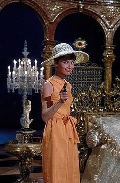 """Paris When It Sizzles"" Audrey Hepburn 1963 Paramount"