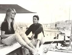 Images of Spring fashion and style icon Brigitte Bardot Bridget Bardot, Brigitte Bardot, Jeanne Moreau, Jane Birkin, Serge Gainsbourg, Classic Hollywood, Old Hollywood, Jacques Charrier, The Kat