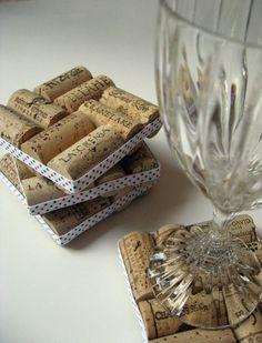 Coaster corks