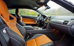 Peak Performers: 2012 Jaguar XKR-S and 2012 Maserati GranTurismo MC - Automobile Magazine - Automobile Magazine 2014 Maserati Granturismo, Automobile, Jaguar, Car Seats, Vehicles, Cars, Interior, Cutaway, Car