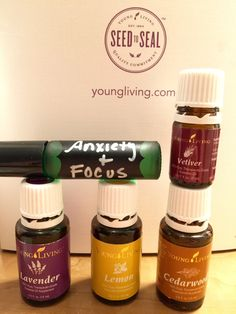 Focus blend, Young Living Essential Oils.