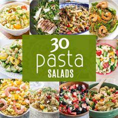 30 PASTA SALADSReally nice recipes. Every hour.Show me what you  Mein Blog: Alles rund um die Themen Genuss & Geschmack  Kochen Backen Braten Vorspeisen Hauptgerichte und Desserts