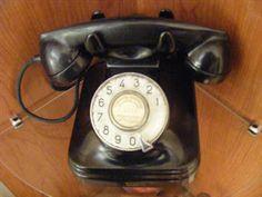 Mis cosas antiguas: Teléfono años 50