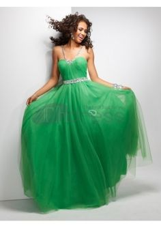 Ball Gown Straps Tulle Floor-length Sleeveless Crystal Detailing Quinceanera Dresses at Msdressy Ball Dresses, Bridal Dresses, Ball Gowns, Bridesmaid Dresses, Prom Dresses, Dresses 2013, Dresses Online, Formal Evening Dresses, Evening Gowns