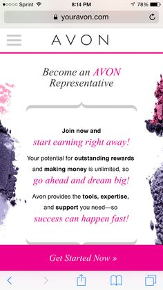 If Interested Please sign up on my website: YourAvon.com/mreneperez