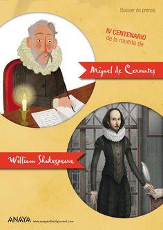 IV centenario de la muerte de Cervantes y Shakespeare  Dossier de prensa