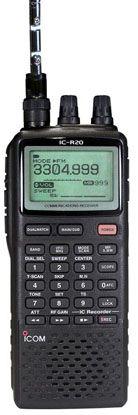 Icom R20 Scanner