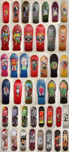 Zorlac skateboard deck collection pics from GatorALLin