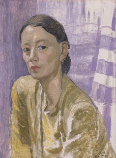 Self Portrait, Olivia Spencer Bower,  | Christchurch Art Gallery Te Puna o Waiwhetu.    New Zealander, b.1905, d.1982.          Purchased, 1954.       Reproduced courtesy of the trustees of the Olivia Spencer Bower Foundation.     Oil on board     672 x 520mm     69/109     1950