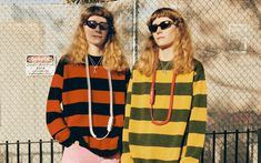 Next up in fashion's nostalgia kick? The humble rugby shirt. Designers are bringing it back in their own way, from Alexander Wang to Koché and Kate Spade. Read more here. Jimmy Choo Sunglasses, Kate Spade Sunglasses, Tom Ford Sunglasses, Arnette Sunglasses, Armani Exchange Sunglasses, Ethical Shopping, Young Models, Fall Trends, Alexander Wang