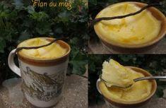 Flan au mug au micro-ondes - remplacer le lait par du dairy-free milk