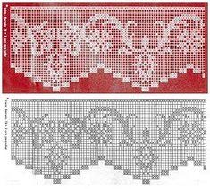 How to Crochet a Bodycon Dress/Top - Crochet Ideas Filet Crochet Charts, Crochet Motifs, Crochet Stitches Patterns, Crochet Diagram, Crochet Designs, Crochet Doilies, Stitch Patterns, Crochet Hook Set, Thread Crochet